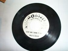 Dale & Grace Montel Record Crazy Cajun Baton Rouge LA 45rpm DJ copy Not for Sale