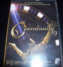 Operatunity (Opera Singer Reality Show)  (Australia Reg 4) ABC TV DVD - Like New