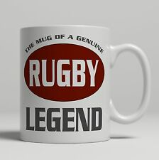 Rugby gift ceramic mug players tea coffee union or league cup new novelty