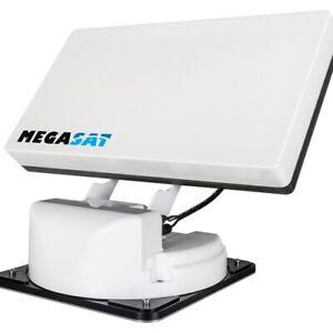 Megasat Traveller-Man 3 Vollautomatische Twin Satellitenantenne AutoSkew Sat Sys