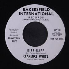 CLARENCE WHITE: Riff-raff / Grandma Funderbunks Music Box 45 (dj) Rock & Pop