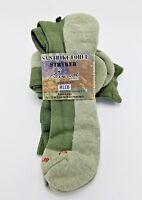 Merino Wool Alpaca Socks Soft XL Green Thick Military Surplus Issue Made in USA