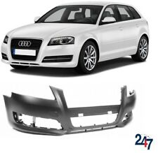 NEW AUDI A3 2009 - 2013 FRONT BUMPER WITHOUT WASHER AND PDC HOLES
