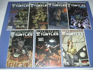 Teenage Mutant Ninja Turtles Hero Micro Series 1-7 all VF/NM! IDW 2011 set run