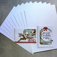 """A5 CARD SUPER SMOOTH """"BRIGHT"""" WHITE 280 GSM 20 SHEETS CARDMAKING - NEW"""