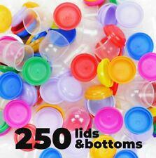 Gumball Machine Empty Capsules 11 250 Pcs Bulk 8 Colors Acorn Capsule Vending
