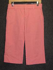 JUICY COUTURE JEAN Pink Cotton Cropped Pants SZ 26