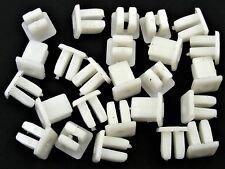 GM Nylon Trim Screw Nuts- Bezel, Trim, Grille, Chrome, etc.- 25 nuts- #092