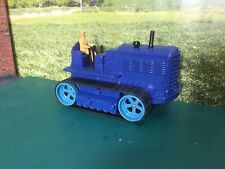 Dinky Farm Heavy Tractor American Export Blue(repaint)