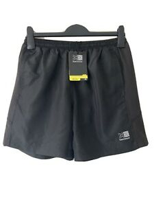 Karrimor Mens Boys Black PE Run Shorts Size Medium