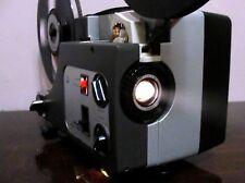 Sankyo Dualux 1000 STD 8mm / Super 8 MOVIE PROJECTOR ADJUST SPEED ~ SERVICED~