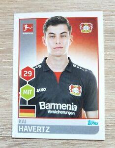 Topps 180 Kai Havertz Bundesliga 2018 2019 Bayer 04 Leverkusen Rookie Sticker