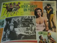 ELVIS LOBBY CARD PHOTO  11X14 1960'S LIVE A LITTLE LOVE A LITTLE MEXICO ESTATE