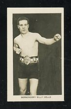 "1922 Boy's Friend ""Rising Boxing Stars"" #15  Billy Wells   LOOK !!"