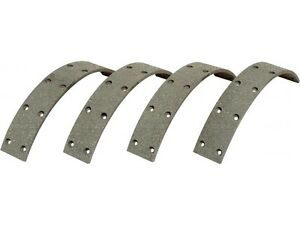BRAKE LINING KIT WITH RIVETS FOR MASSEY FERGUSON FE35 TE20 TEA20 TED20 TEF20