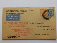 More details for (5637a) first flight cover london to berlin 15th may 1930