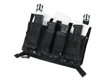 TMC Tactical Assault Mag Pouch Panel (Black) TMC2607-BK