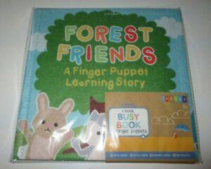 Target Bullseye Dollar Spot Felt Forest Friends Puppet Learning Quiet Book XMAS