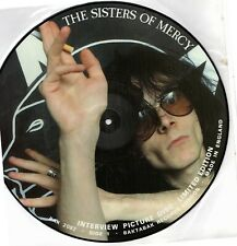 SISTERS OF MERCY INTERVIEW PICTURE DISC RARE Vinyl Record Picture Disc