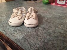 Girls Mothercare white shoes size infant 2