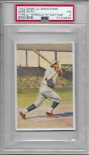 1932 Sanella Margarine Babe Ruth Baseball Card Graded PSA 3 Very Good Condition
