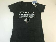 NWT Adidas V Neck T Shirt Womens XL fitted minnesota Timberwolves