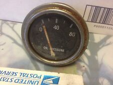 Studebaker, and other, gauge, oil pressure. Item: 9023