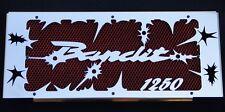 "cache / Grille de radiateur Suzuki GSF 1250 Bandit 07>15 ""hold up"" + grill. roug"