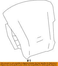 Chevrolet GM OEM Airbag Air Bag-Driver Steering Wheel Inflator 84057069