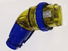 4 Pin 22amp & 32amp Angle Plug Industrial Male Plug Weatherproof IP66