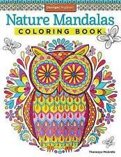 Nature Mandalas Coloring Book by Thaneeya McArdle (Paperback, 2014)