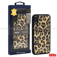 KASO Leopard Leather Credit Card Pocket Case For iPhone 11 Pro Max XS XR 8 Plus