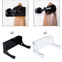 1 Pair Acrylic Skateboard Holder Wall-mounted Longboard Display Rack Bracket