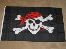 3X5 PIRATES OF THE CARRIBEAN FLAG JOLLY ROGER NEW F063