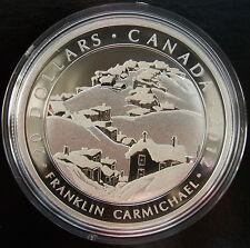 *ART* CANADA Fine Silver $20 Coin - Carmichael, Houses, Cobalt 2012 LOW MINTAGE!