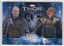 2013 Thor the Dark World dual costume card DMD-13 Erik Selvig Fandral