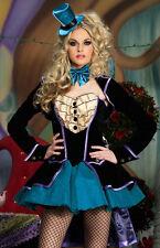 Womans Sexy Queen of Hearts Alice In Wonderland Fancy Dress Halloween Costume