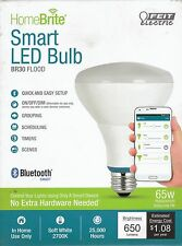 Bluetooth Smart LED: BR30 FLOOD 65W Equivalent Dimmable - HOME BRIGHT By Feit