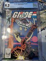 G.I. JOE  #8 (Marvel,2/83) CGC 9.2 Stalker, Scarlett, Clutch on cover