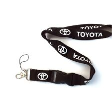 Neck Strap Lanyard Car Logo Key Chains Cellphone ID Cord Holder fit for Toyota