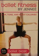 Ballet Fitness Jennee McCormick Ballet Blast Workout Fitness Barre Dvd pilates