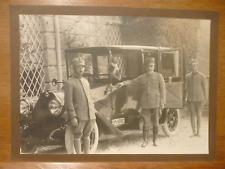 ARMANDO DIAZ GRANDE FOTOGRAFIA ORIGINALE Firmata  A. Gislon Padova automobile