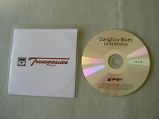 SONGHOY BLUES La Resistance promo CD album