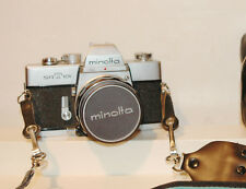 Minolta SRT 101 35mm SLR Film Camera with 58mm 1.4 Lens w/Leather Case