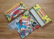 Monopoly: Spider-Man Collector's Edition (Board Game) spiderman RARE COMPLETE!