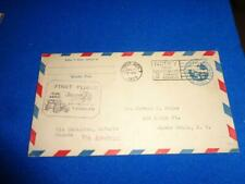 US FIRST FLIGHT COVER: 1929 DETROIT TO TORONTO