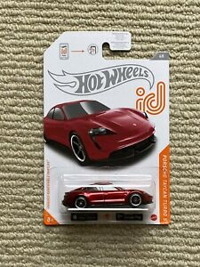 Hot Wheels Porsche Taycan Candy Red ID Chase Car VHTF
