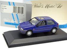 Minichamps 1/43 - Ford Fiesta 1995 Bleue