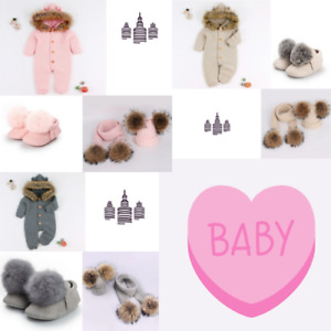 Unisex Baby Bear Rompers NEW  EMPIRE BABY BEAR WINTER FUR FULL OUTFIT