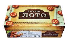 Lotto Ruso РУССКОЕ ЛОТО Corporativo Juego Juego de la familia Bingo
